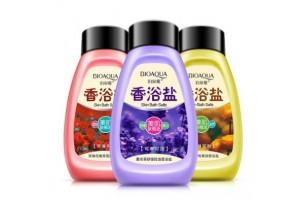 """BioAqua Skin Bath скраб для тела на основе морской соли """"Лаванда"""""""