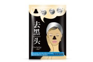 Черная маска-пленка с гиалуроновой кислотой One Spring (8 гр)