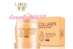 Laikou Collagen Massage Cream массажный крем с коллагеном для лица