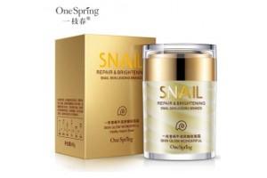 One Spring Snail Moisturizing Cream крем с фильтратом улитки