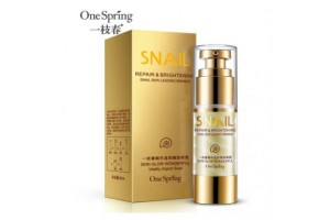One Spring Snail Moisturizing Eye Cream крем для век с улиткой