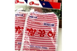 Body Glove Towel пилингующая варежка для душа (Корея)