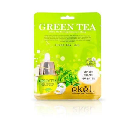 Ekel Green Tea Ultra Hydrating Essence тканевая маска с экстрактом зеленого чая