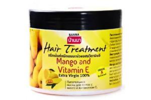 "Banna MANGO & VITAMIN E Hair питательная маска для волос ""МАНГО и ВИТАМИН Е"" (300 мл, Тайланд)"