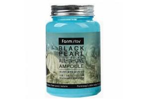 FarmStay Black Pearl All-In One Ampoule жемчужная омолаживающая сыворотка (250 мл)