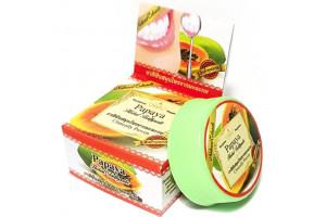 Отбеливающая зубная паста Rochjana с экстрактом гвоздики и папайи (30 гр, Тайланд)