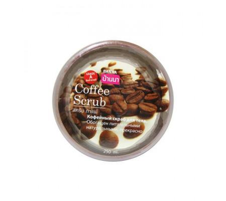 Banna Coffee Scrub кофейный скраб для тела (250 мл, Тайланд)