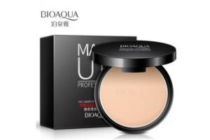 BioAqua Pressed Powder компактная пудра, маскирующая поры (01)