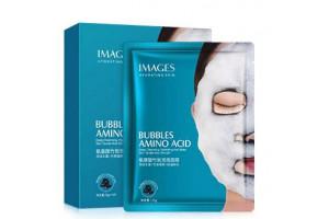 IMAGES Bubbles Amino Acid пузырьковая маска на тканевой основе