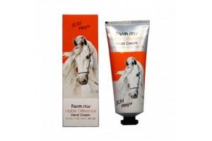 FarmStay Hand Cream Jeju Mayu крем для рук с лошадиным жиром