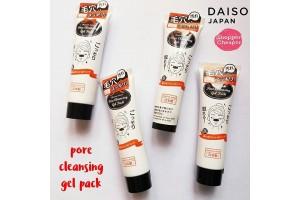 Daiso Pore Cleansing Gel Pack очищающая гелевая маска от черных точек
