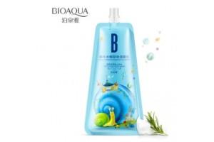 BioAqua Snail Remover Cleanser улиточная пенка для снятия макияжа