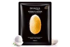 """BioAqua Hyaluronic acid moisturizing mask маска """"Гиалуронка и Шелк"""""""