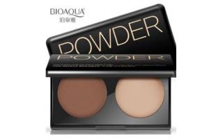 BioAqua Powder Two Color Bronzer палетка для контурирования лица №02