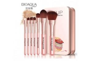 BioAqua Make Up Beauty набор кистей для макияжа (7шт, розовый)