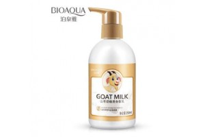 BioAqua Goat Milk лосьон для тела с козьим молоком