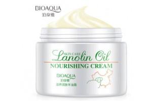 BioAqua Lanolin Oil Nourishing Cream питательный крем с ланолином