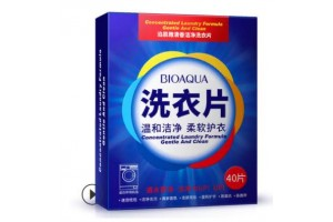 BioAqua Concentrated Laundry Formula салфетки для стирки белья, 40шт