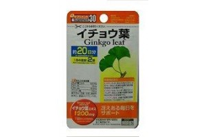 Daiso Ginkgo leaf ГИНКГО Билоба: отличная память