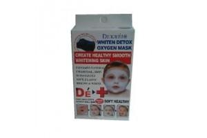 Dekrei Whiten Detox Mask кислородная пузырьковая маска для лица с углем