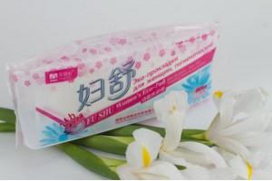 """Лечебные женские Эко-прокладки """"Fu shu"""" (в основе 49 китайских трав)"""
