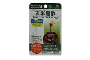 Daiso Brown rice black vinegar (черный рисовый уксус): очищает организм, выводит шлаки и токсины