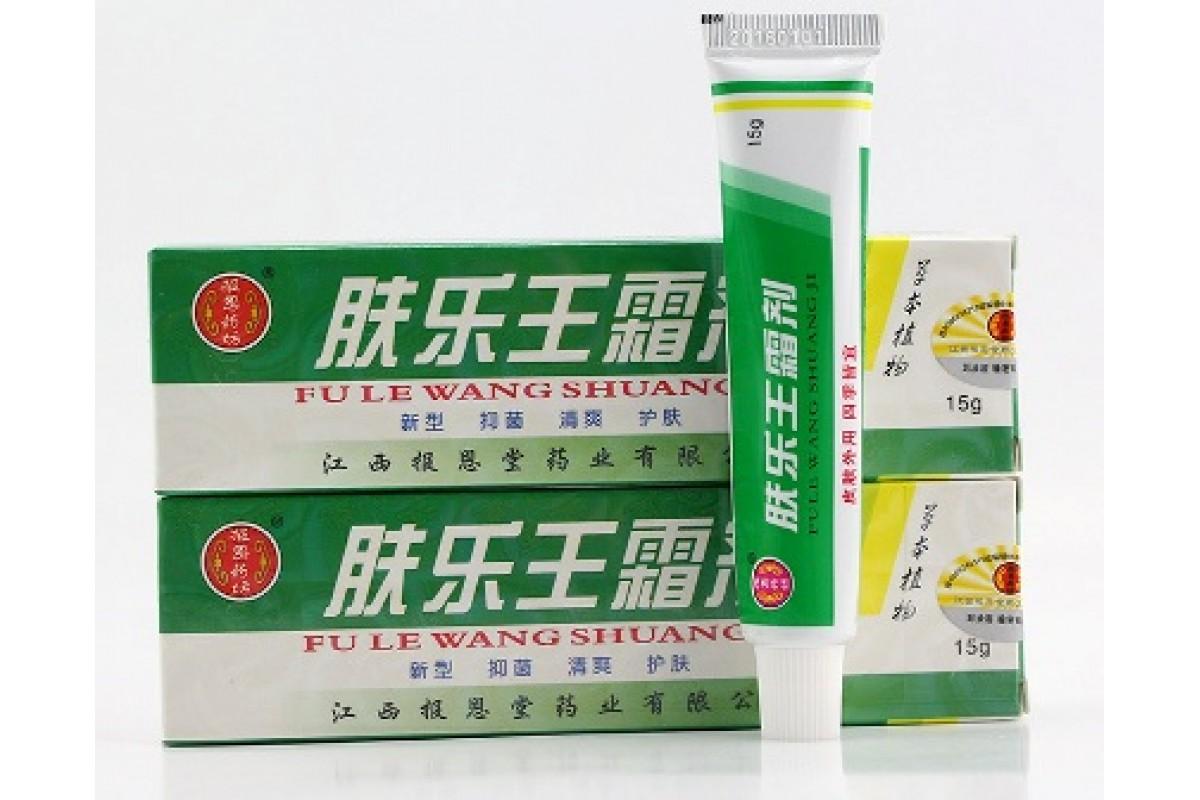 Китайский крем от псориаза Король кожи