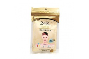 "Золотая маска для лица ""24 K Active Gold Whitening Soft Mask Gold Powder"""