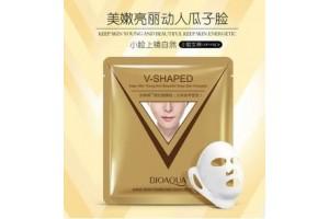 BioAqua маска для лица (подтягивает овал, придает упругость)