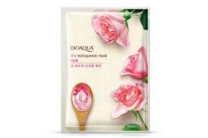 Тканевая маска для лица с экстрактом розы BioAqua Rose