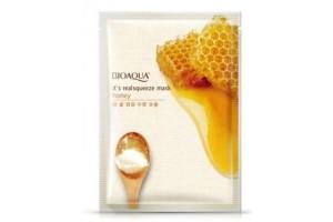 Маска на тканевой основе с медом BioAqua Honey