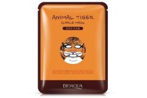 """Тканевая маска в зверином стиле """"Тигрица"""" (увлажнение), BioAqua"""