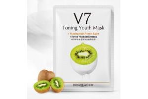 Bioaqua V7 Toning Youth Mask тканевая маска с экстрактом киви