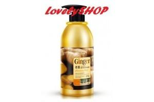 Имбирный шампунь для волос BioAqua Ginger Shampoo, 400гр
