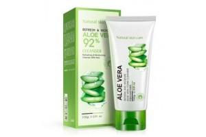 BioAqua Aloe Vera Foam Cleanser пенка для умывания с Алоэ вера
