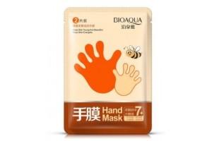 BioAqua Hand Mask маска-перчатки для рук с медом