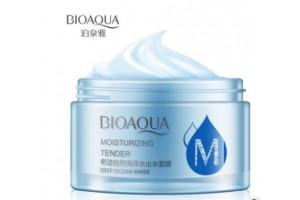 BioAqua Deep Ocean Water Moisturizing Tender ночной крем для увядающей кожи