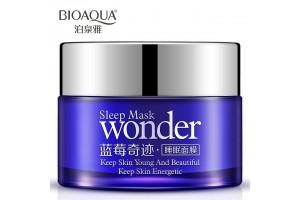 Ночная маска с экстрактом черники BioAqua Sleep Mask