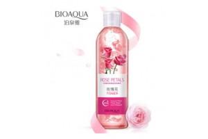 BioAqua Rose Petals Toner увлажняющий тонер с экстрактом Розы