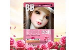 Bioaqua BB Mask тканевая маска с экстрактом розы