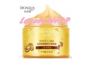 Bioaqua Foot Massage Scrub Cream скраб для ног с маслом Ши