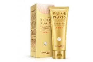 BioAqua Pure Pearls пенка для умывания на основе жемчужной эссенции