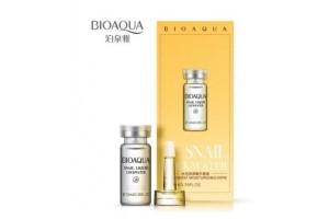 Сыворотка 100% фильтрат Улитки Bioaqua Snail Liquid Lock Water (10 мл)