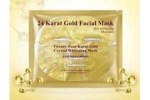 Bioaqua 24 Karat Gold Facial Mask коллагеновая маска с нано-золотом
