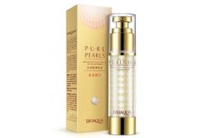 BioAqua Pure Pearls жемчужная эмульсия с шелковистым покрытием