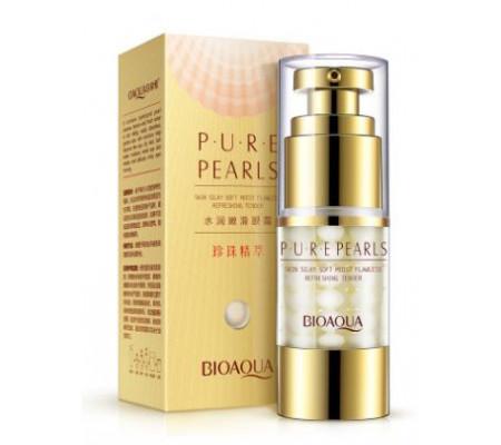 BioAqua Pure Pearls жемчужный крем-гель для глаз против темных кругов