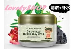 BioAqua Little Black Pig Bubble Mask Mud очищающая кислородная маска