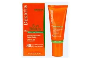 Dekrei Facial Sunscreen Lasy Cream солнцезащитный крем для лица против всех видов ультрафиолета SPF40