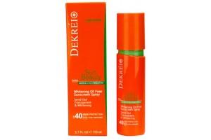 Dekrei, Whitening Oil Free Sunscreen Spray солнцезащитный спрей