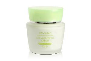 3W CLINIC Snail Moist Control Cream крем с экстрактом секрета Улитки